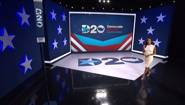 Actress Eva Longoria introduces the start of the 2020 Democratic National Convention in a frame grab from live video at the start of the all virtual convention as participants from across the country are hosted over video links from the originally planned site of the convention in Milwaukee, Wisconsin, U.S. August 17, 2020 - Sputnik International