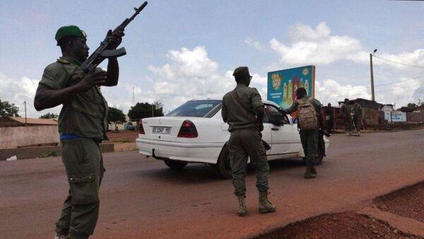 Troops in Bamako, Mali. Tuesday, August 18, 2020. - Sputnik International