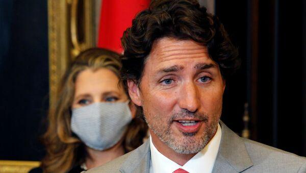 Canadian Prime Minister Justin Trudeau in Ottawa, Ontario - Sputnik International