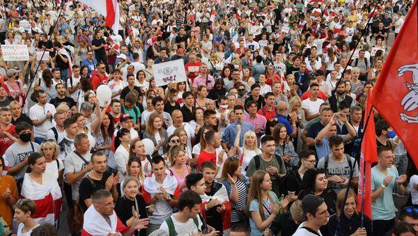 Minsk protests - Sputnik International