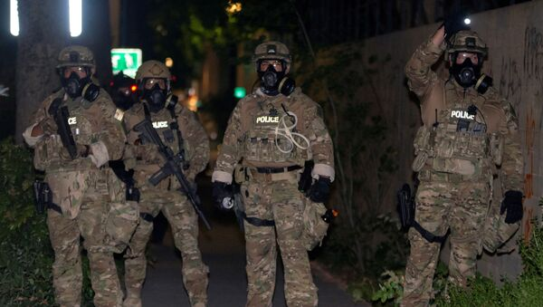US Federal Law Enforcement Officers - Sputnik International