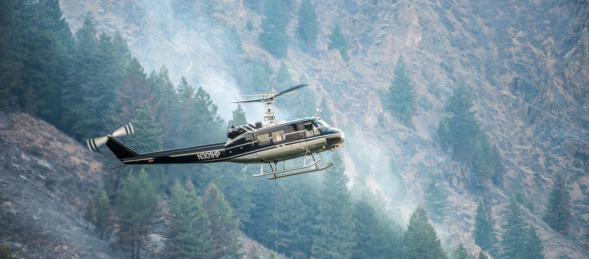 Bell UH-1H helicopter - Sputnik International, 1920, 03.06.2021