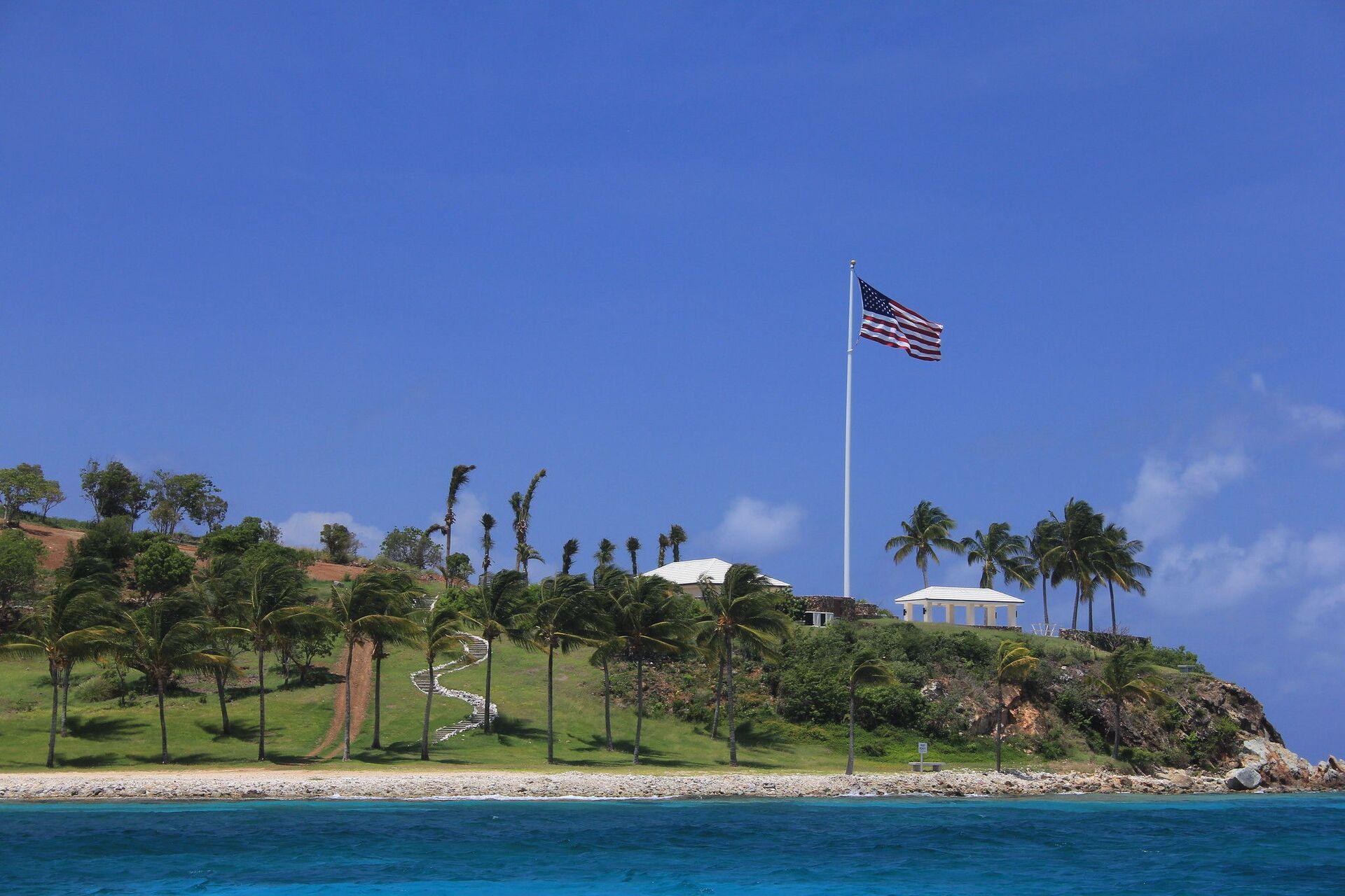 Jeffrey Epstein's private Little St. James island in US Virgin Islands - Sputnik International, 1920, 07.09.2021
