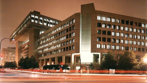FBI Headquarters at night - Sputnik International