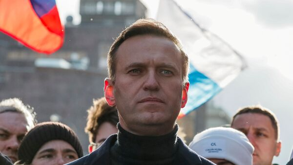 Russian opposition politician Alexei Navalny - Sputnik International