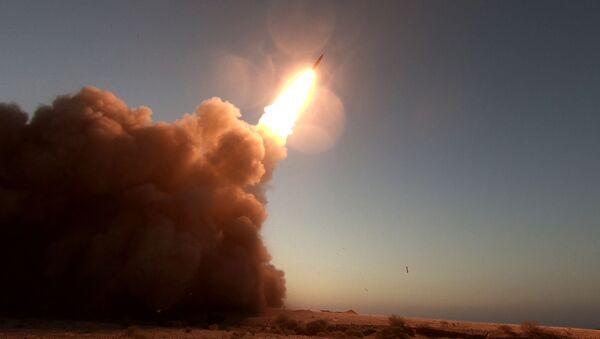 "The ""Martyr Hajj Qassem"" surface-to-surface ballistic missile - Sputnik International"