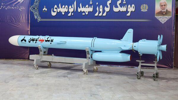 The Iranian-made 'Abu Mahdi' cruise missile. File photo - Sputnik International