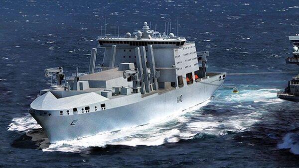 Fleet Solid Support Ship Proposal - Sputnik International