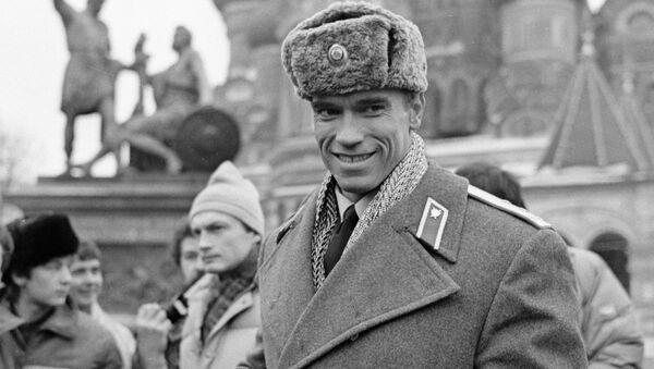 American actor and bodybuilder Arnold Schwarzenegger in Red Square, 31 January 1988 - Sputnik International