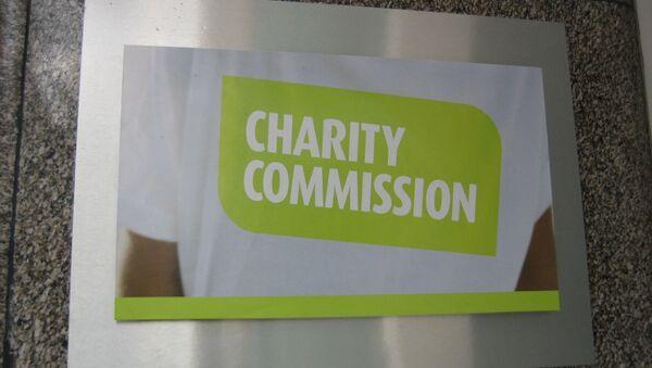 Charity Commission London office plaque - Sputnik International