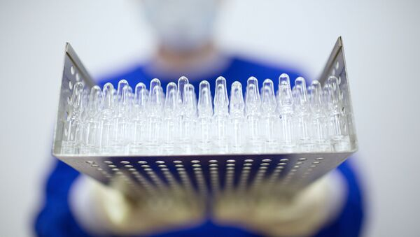 Production of Gam-COVID-Vac vaccine against the coronavirus disease (COVID-19), developed by the Gamaleya National Research Institute of Epidemiology and Microbiology and the Russian Direct Investment Fund (RDIF), at Binnopharm pharmaceutical company in Zelenograd near Moscow, Russia - Sputnik International