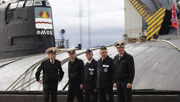 """""""Omsk"""" nuclear submarine - Sputnik International"""