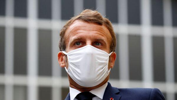 French President Emmanuel Macron - Sputnik International