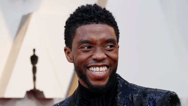 91st Academy Awards - Oscars Arrivals - Red Carpet - Hollywood, Los Angeles, California, U.S., February 24, 2019.  Actor Chadwick Boseman of Black Panther wears Givenchy.  - Sputnik International