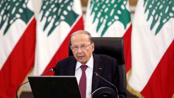 Lebanon's President Michel Aoun - Sputnik International