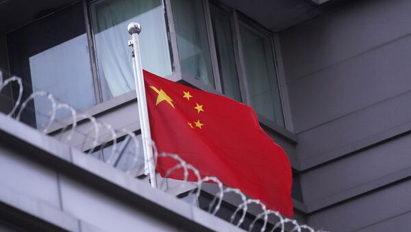 The flag of China flies outside the Chinese Consulate Wednesday, July 22, 2020, in Houston.  - Sputnik International
