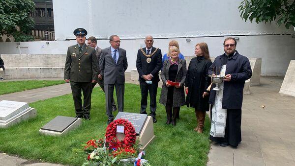Russian community honours Soviet war dead at Leningrad Plaque in St Peter's Square  - Sputnik International