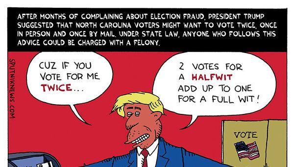 Vote Early, Vote Often - Sputnik International