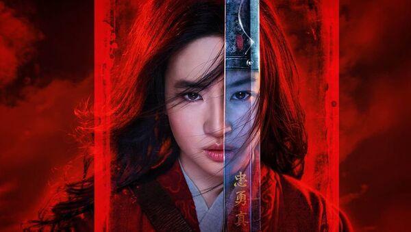 poster for Mulan movie - Sputnik International