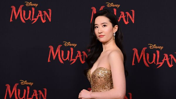 (FILES) In this file photo taken on March 9, 2020 US-Chinese actress Yifei Liu attends the world premiere of Disney's Mulan at the Dolby Theatre in Hollywood.  - Sputnik International