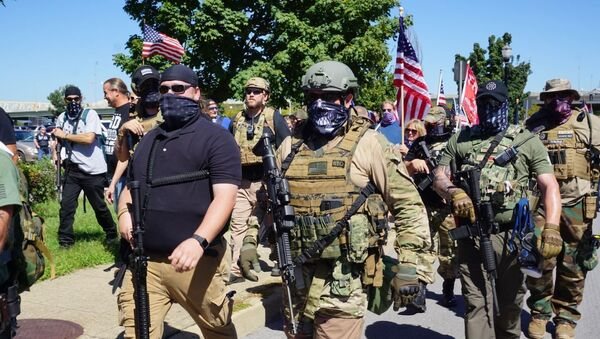 Hundreds of Protesters Gather in Louisville - Sputnik International