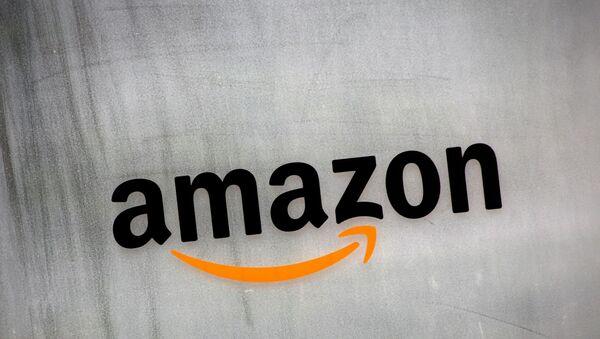 Amazon.com's logo is seen at Amazon Japan's office building in Tokyo, Japan, Aug. 8, 2016. - Sputnik International