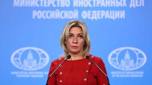 Maria Zakharova - Sputnik International