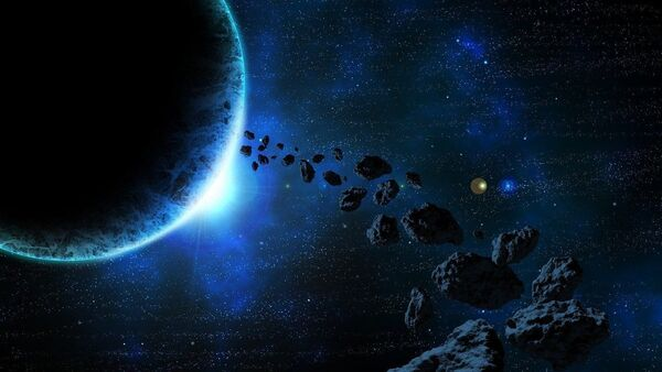 Space asteroid - Sputnik International