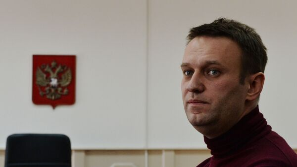 Russian opposition figure Alexei Navalny  - Sputnik International