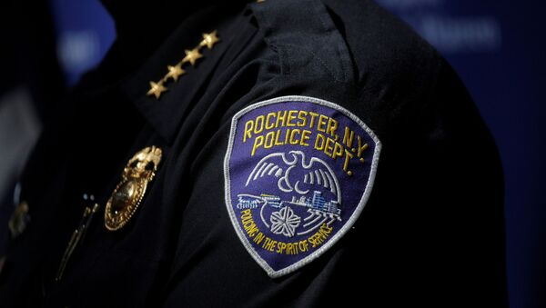Rochester Police Chief, La'Ron Singletary speaks during a news conference regarding the protests over the death of a Black man, Daniel Prude, after police put a spit hood over his head during an arrest on March 23, in Rochester, New York, U.S. September 6, 2020. - Sputnik International