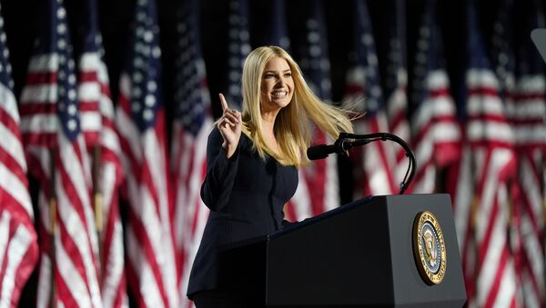 Ivanka Trump speaks from the South Lawn of the White House on the fourth day of the Republican National Convention, Thursday, Aug. 27, 2020, in Washington - Sputnik International