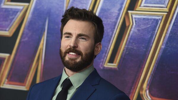 Chris Evans arrives at the premiere of Avengers: Endgame at the Los Angeles Convention Center on Monday, April 22, 2019 - Sputnik International