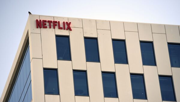 Netflix headquarters in the Hollywood section of Los Angeles is pictured, Monday, May 4, 2020 - Sputnik International