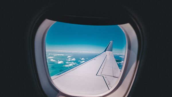 airplane window view - Sputnik International