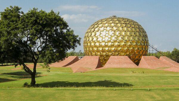 The Matrimandir in Auroville, Tamil Nadu, India - Sputnik International