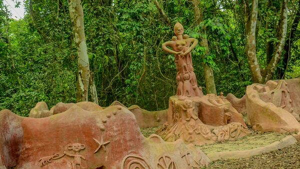 Osun Osogbo sacred groove/forest lies on the outskirts of Osogbo Metropolis, Osun state and spreads across an area of forest with the Osun river. - Sputnik International