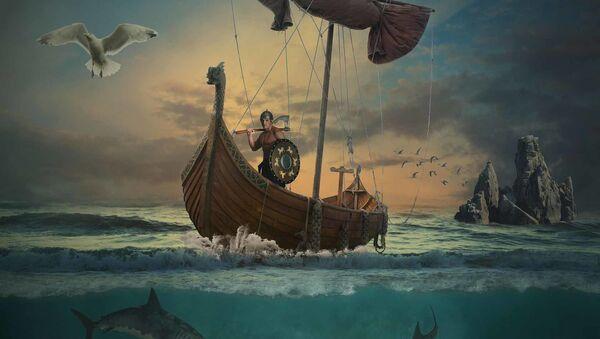 Vikings ship - Sputnik International