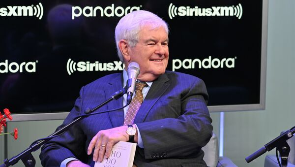 Former Speaker of the United States House of Representatives Newt Gingrich visits SiriusXM's The Catholic Channel at SiriusXM Studios on October 22, 2019 in New York City.  - Sputnik International
