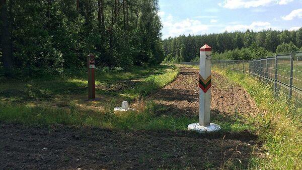 Border Of Lithuania - Belarus - Sputnik International