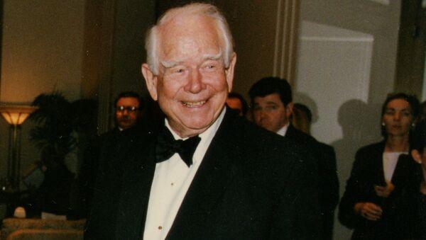 Donald Mcintosh Don Kendall, a former American businessman and political adviser. He is a former CEO of Pepsi Cola. c. June 1998 - Sputnik International