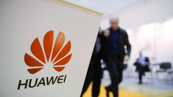 Huawei pavilion at the International Exhibition for Information and Communications Technology Sviaz - 2017 in Moscow - Sputnik International