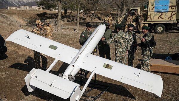 Iranian Qods Mohajer-2 drone. - Sputnik International