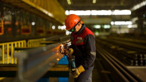 Aktobe Rail and Section Works (ARBZ)  - Sputnik International
