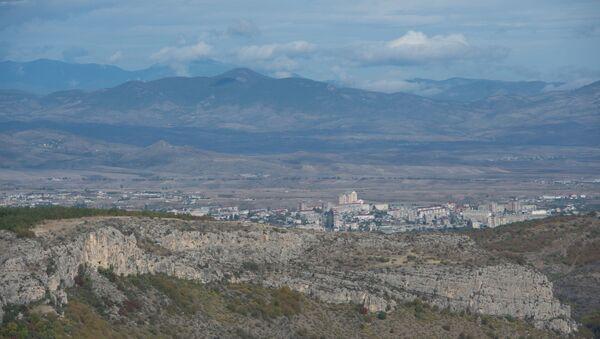 The town of Stepanakert in the self-proclaimed Nagorno-Karabakh Republic - Sputnik International