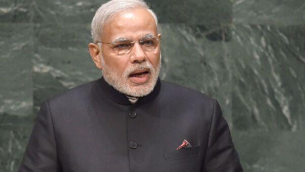 The Prime Minister, Shri Narendra Modi  - Sputnik International