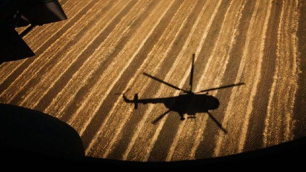 Helicopter  shadow - Sputnik International