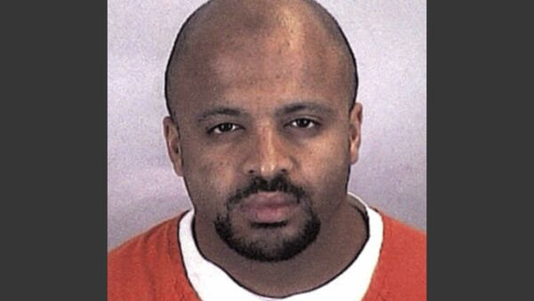 """This undated file photo provided by the Sherburne County Sheriff Office shows Zacarias Moussaoui. Moussaou, the only man ever convicted in a U.S. court for a role in the Sept. 11 attacks now says he is renouncing terrorism, Al-Qaida and the Islamic State.   In a handwritten court motion Moussaoui filed with the federal court in Alexandria last April 2020, Moussaoui wrote, """"Ï denounce, repudiate Usama bin Laden as a useful idiot of the CIA/Saudi. I also proclaim unequivocally my opposition to any terrorist action, attack, propaganda against the U.S."""" - Sputnik International"""