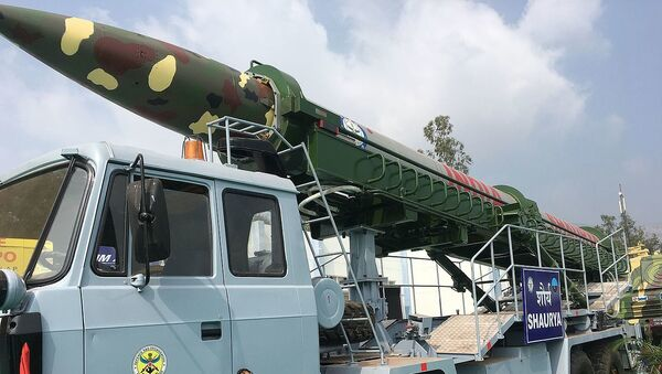 Shaurya missile - Sputnik International