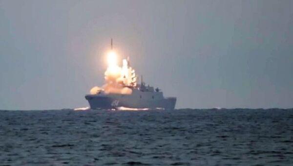 Test of the Zircon hypersonic missile - Sputnik International