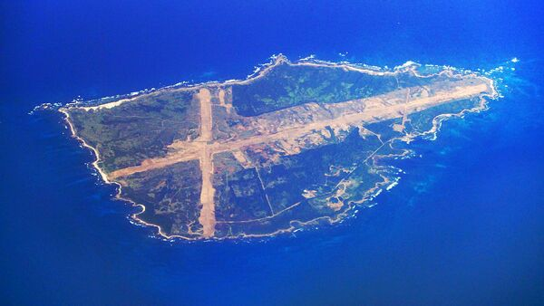 Mageshima Island in Nishinoomote, Kagoshima Prefecture. Mage Island is one of the locations under consideration for relocating US field carrier landing practice facility (FCLP) - Sputnik International